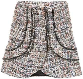 Andrea Bogosian tweed skirt