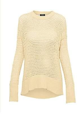 Theory Women's Sughero Karenia Crochet Sweater