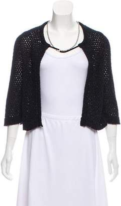Chanel Embellished Knit Cardigan