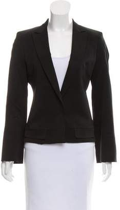 CNC Costume National Peak-Lapel Structured Blazer