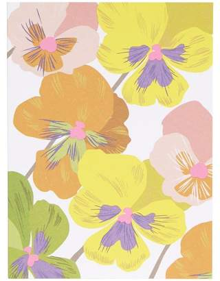 Noi Pansies Thank You Notecard Set