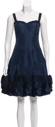 Basix II Sleeveless Satin Dress