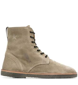 Golden Goose lace-up ankle boots