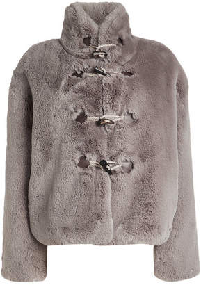 Golden Goose Shedir Faux Fur Jacket