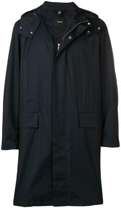Theory hooded raincoat