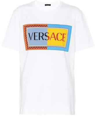 Versace Vintage Logo cotton T-shirt