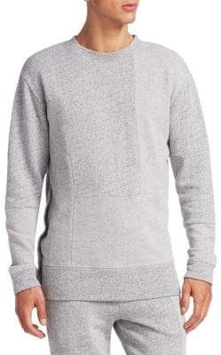 McQ Recycled Cotton Press Stud Sweater