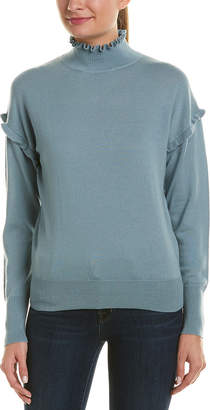Rebecca Taylor Mock Wool Pullover