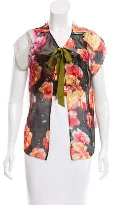 Tracy Reese Silk Two-Piece Top $70 thestylecure.com