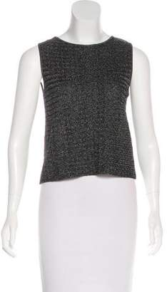 DKNY Metallic Sleeveless Top