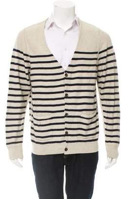 Rag & Bone Striped Wool-Blend Cardigan