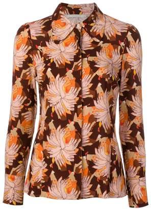 L'Autre Chose abstract print blouse