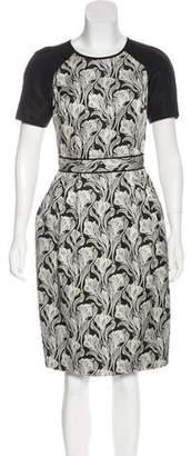 Jason Wu Printed Silk Dress