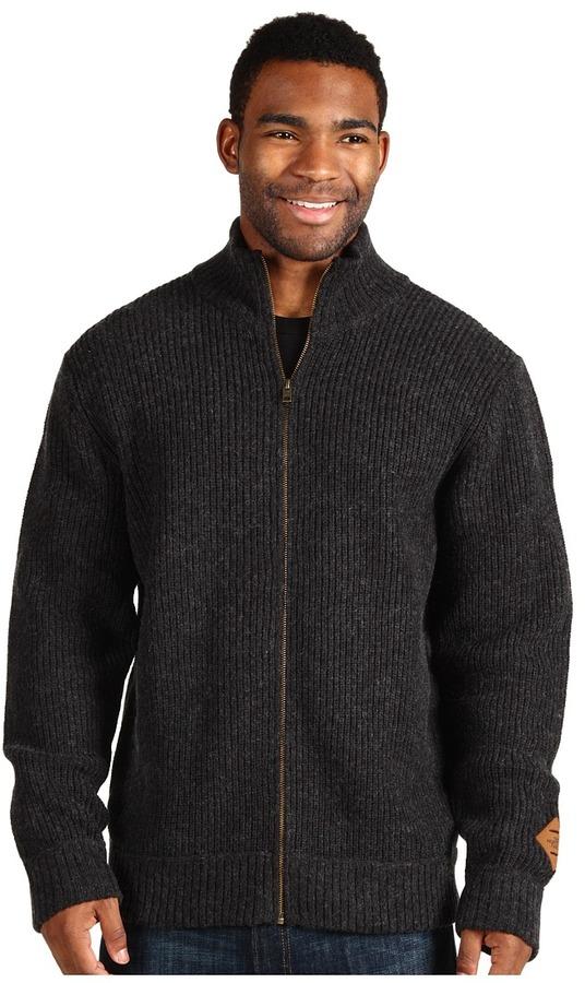 The North Face Men's Norton Full-Zip Sweater (Deep Water Blue) - Apparel
