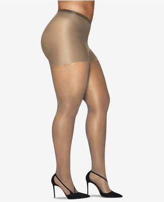 Hanes Plus Size Silky Sheer Pantyhose