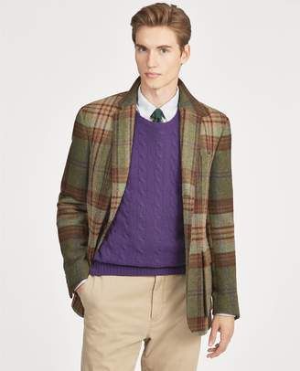 Ralph Lauren Polo Plaid Tweed Sport Coat