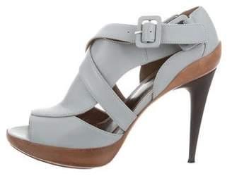 Marni Leather Cutout Sandals