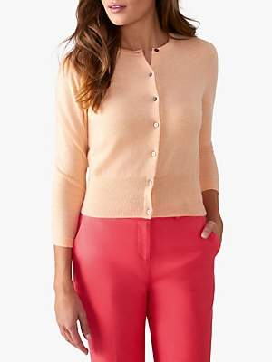 Pure Collection Cashmere Cropped Cashmere Cardigan