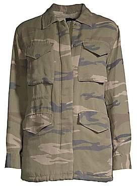 Rails Women's Whitaker Faux-Shearling Lined Camo Jacket