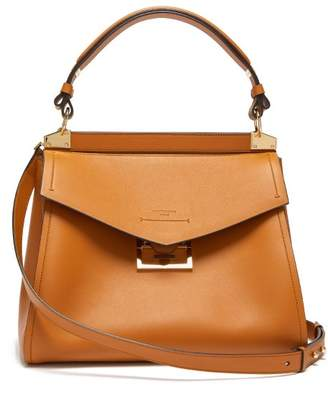 Givenchy Mystic Medium Leather Top Handle Bag - Womens - Tan