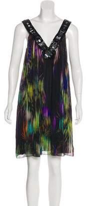 Matthew Williamson Embroidered Knee-Length Dress