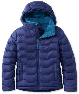 L.L. Bean Boys' L.L.Bean Fleece-Lined Down Jacket
