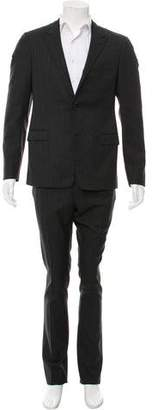 Lanvin Wool Glen Plaid Suit