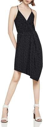 BCBGeneration Dot Print Asymmetric Dress