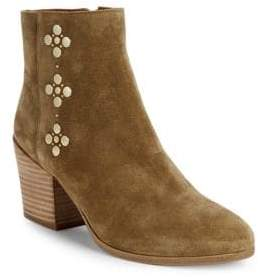 Frye Studded Suede Booties