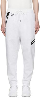 Y-3 White Future SP Lounge Pants $505 thestylecure.com