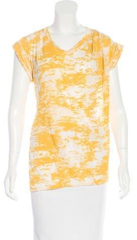 3.1 Phillip Lim3.1 Phillip Lim Burnout Short Sleeve T-Shirt