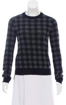 A.L.C. Wool Plaid Sweater