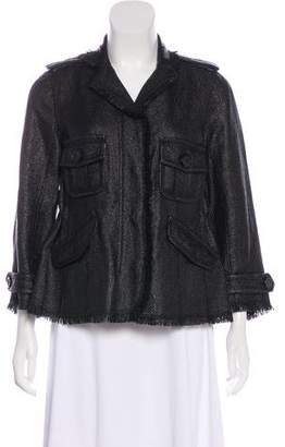 Moncler Coated Woven Jacket