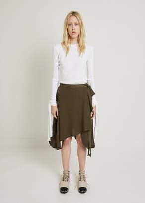 J.W.Anderson Georgette Wrap Skirt