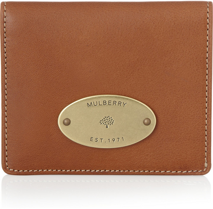 Mulberry Leather ID wallet
