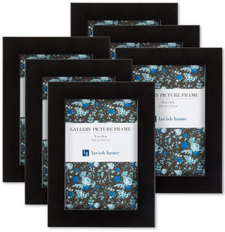 """Trademark Global 6-Pc. 4"""" x 6"""" Picture Frame Wall Gallery Set"""