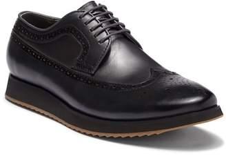 Steven Land Wingtip Leather Derby Sneaker
