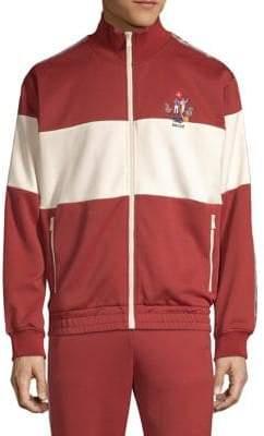 Bally Techno Jersey Zip-Up Sweater