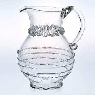 "Juliska Amalia"" Round Glass Pitcher"