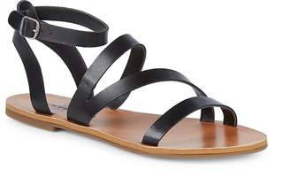 Lucky Brand Women's Andies Ankle-Strap Leather Sandals