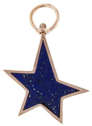 Lapis Marla Aaron Star Charm - Rose Gold