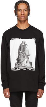 Black Limited Edition Nomenklatura Studio Monuments Long Sleeve T-Shirt