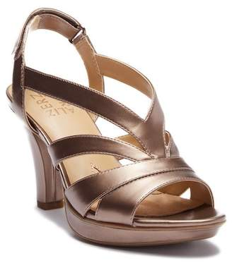 Naturalizer Delfinia Leather Heeled Sandal