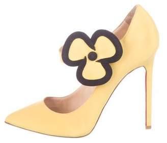 2ee63dec4b24 Christian Louboutin Yellow Pumps - ShopStyle