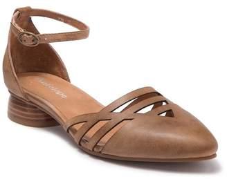 Antelope Laser Cut Ankle Strap Flat