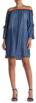 Velvet Heart Leilani Off-the-Shoulder Chambray Dress