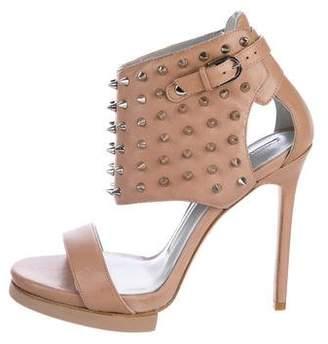 Camilla Skovgaard Spike Embellished Leather Sandals