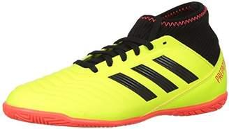 adidas Unisex Predator Tango 18.3 Indoor Soccer Shoe Yellow/Core Black/Solar Red