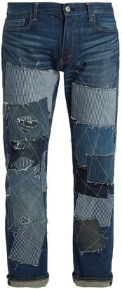 Junya Watanabe X Levis patchwork-detailed jeans