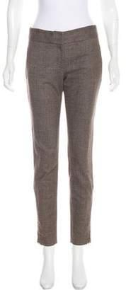 Stella McCartney Zip-Accented Wool Pants